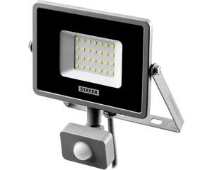 STAYER LED-Pro 30 Вт прожектор светодиодный с датчиком движения