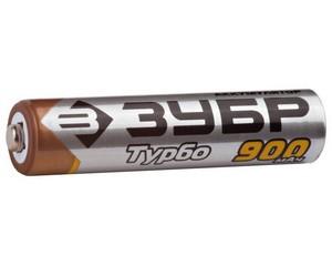 "Аккумулятор ЗУБР с низким саморазрядом ""ААА"", 900 мАч, никель-металлгидридный, 2шт"