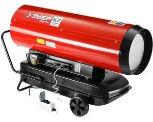 """Пушка ЗУБР """"Мастер"""" дизельная тепловая, 220В, 65,0кВт, 1600 м.куб/час, 55,5л, 6,0кг/ч, дисплей, подкл. внешн термост, продувка, датчик уровня топлива"""