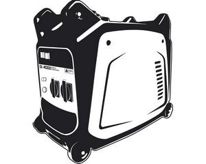 GI-4000 генератор инверторный, 3500 Вт, STEHER