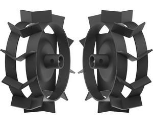 ЗУБР ГР-270 грунтозацепы для культиваторов , 270х90 мм, набор 2 шт.