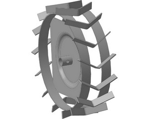 ЗУБР ГР-460 грунтозацепы для мотоблоков, 460х160 мм, набор 2 шт