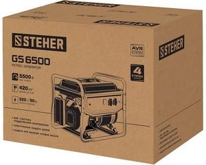GS-6500 бензиновый генератор, 5500 Вт, STEHER