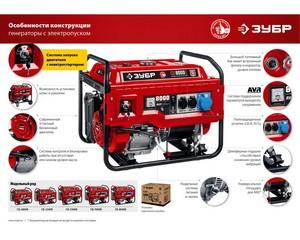 Набор колес + рукоятка № 2, для генераторов мощностью свыше 4000 Вт, ЗУБР