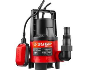 ЗУБР НПГ-М1-550, дренажный насос для грязной воды, 550 Вт