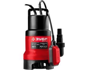 ЗУБР НПГ-М1-900, дренажный насос для грязной воды, 900 Вт