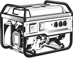 СБ-8000 бензиновый генератор, 8000 Вт, ЗУБР