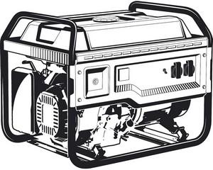 СБ-8000Е бензиновый генератор с электростартером, 8000 Вт, ЗУБР