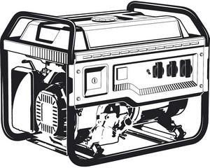 СБА-7000 бензиновый генератор с автозапуском, 7000 Вт, ЗУБР