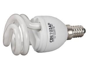 Лампа энергосберегающая, СВЕТОЗАР, SV-44351-08