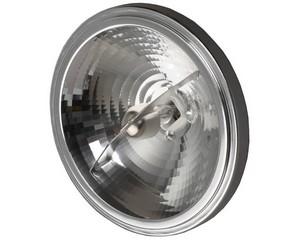 Лампа галогенная СВЕТОЗАР алюм. отражатель, угол 24гр, цоколь G53, диаметр 111мм, 50Вт, 12В
