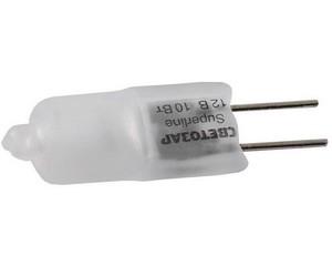 Лампа галогенная СВЕТОЗАР капсульная, матовое стекло, цоколь G4, диаметр 9мм, 20Вт, 12В