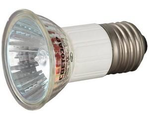 Мощность 35ВТ, Тип цоколя E27, напряжение 220В, диаметр 51мм, СВЕТОЗАР, SV-44843