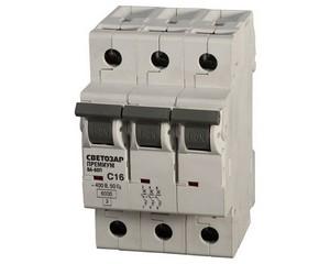 Выключатель автоматический, СВЕТОЗАР, ПРЕМИУМ, SV-49023-06-C