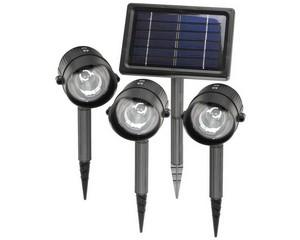 2 белых светодиода, 3 аккумулятора ni-cd 1300мАч, пластмассовый корпус, солн. Панель, 3 шт+1 зарядник, СВЕТОЗАР, SV-57935-3