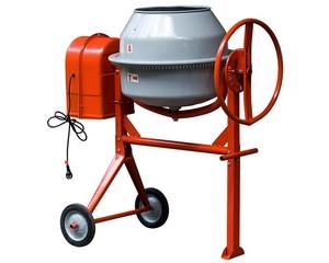 Бетономешалка (бетоносмеситель) электрический, ЗУБР ЗБСЭ-160, чугунный венец, 160 л, 550 Вт