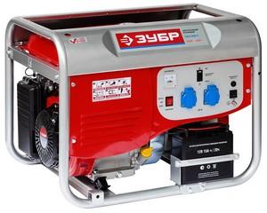 Бензиновый генератор с электростартером, 4000 Вт, ЗУБР