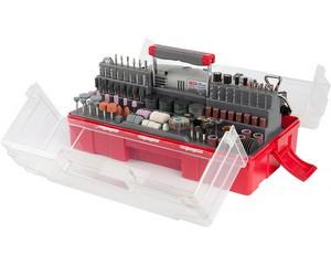 Гравер  электрический с набором мини-насадок, 242 предмета, ЗУБР, ЗГ-130ЭК H242