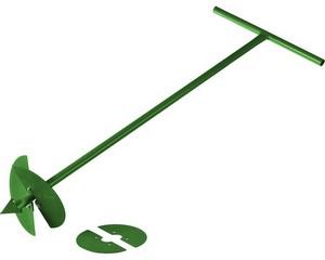 Бур садовый РОСТОК, со сменными ножами, 150 мм, 200мм, длина 1000мм